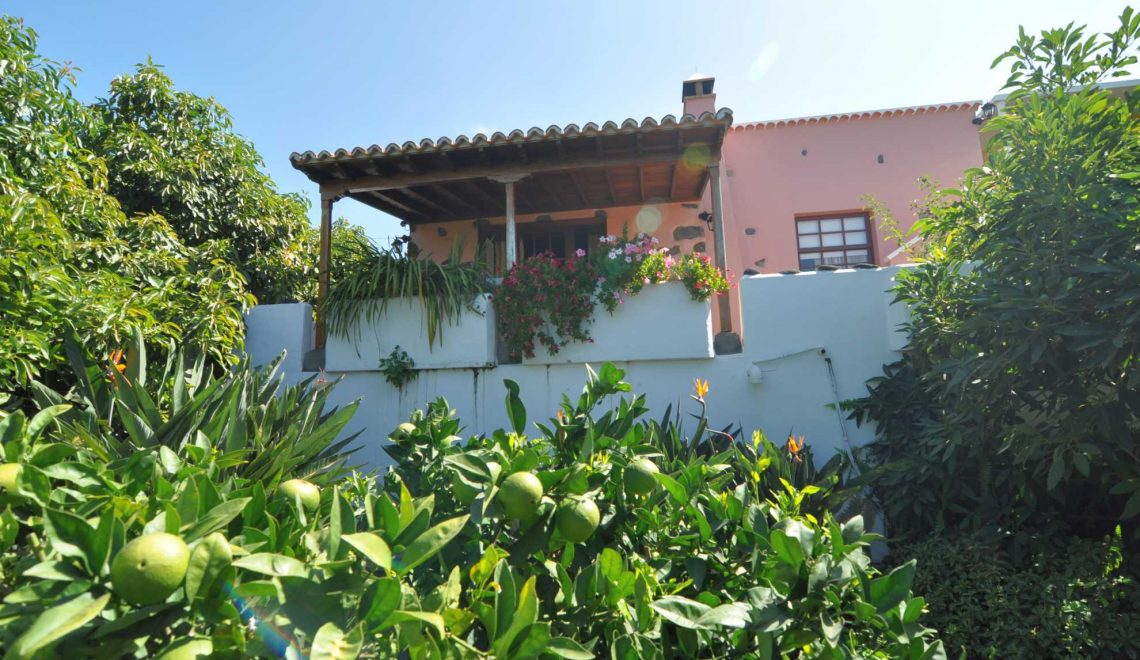 Casa El Jardin zwischen Los Llanos und El Paso - La Palma Reise ...